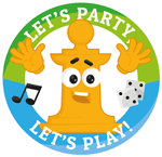Logo Let's Party Let's Play